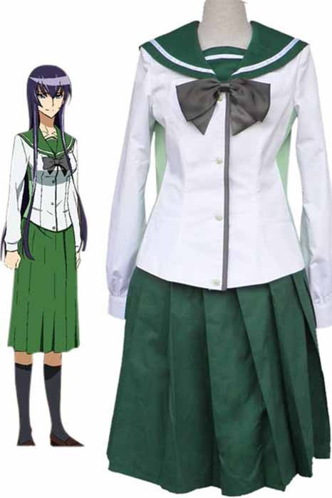 Anime Disfraces|High School of The Dead|Hombre|Mujer